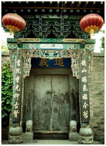 Tempeltür, mehr nicht.