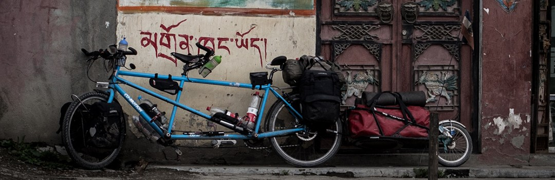 Auffahrt Tibet