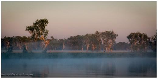Die Stimmung auf dem River ist fantastisch und wunderbar ruhig.