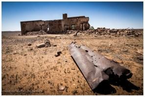 """Immer wieder passieren wir """"alte"""" Ruinen. Meistens fehlt das Dach, das war aus Holz und Holz ist hier Mangelware, also haben die Siedler es mal lieber mitgenommen."""