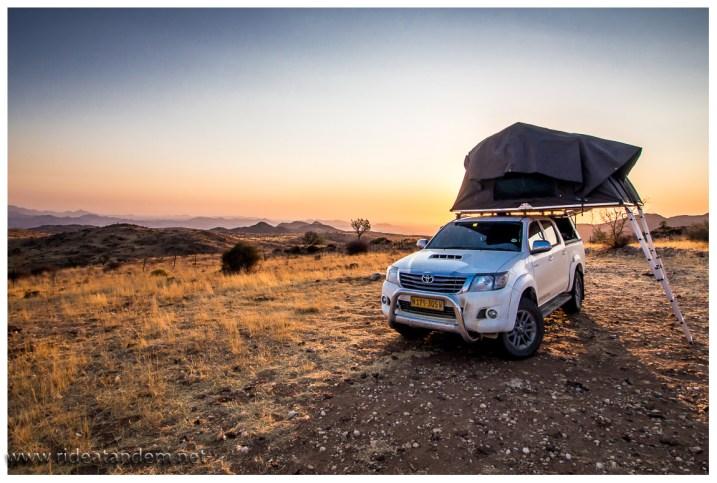 Die Campingplätze bieten auch klasse Aussichten, wir haben es geliebt.