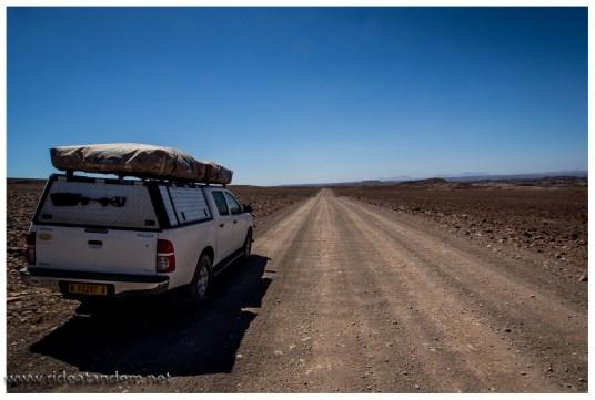 Irgendwie ist es immer etwas wüstig, in Namibia