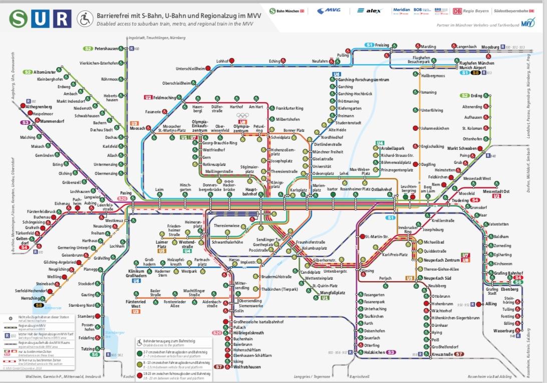 Mvv Karte.S Bahn Plan München Ringe
