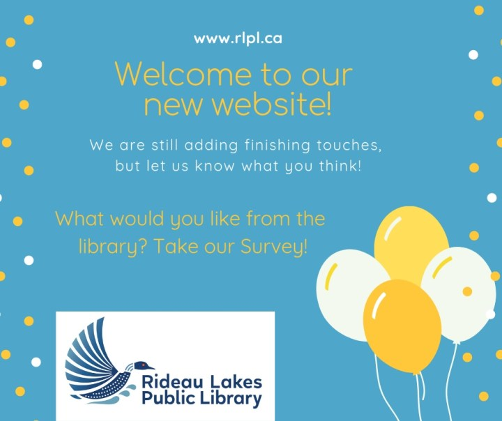 How do you like the website? Please click here to take our library user survey.