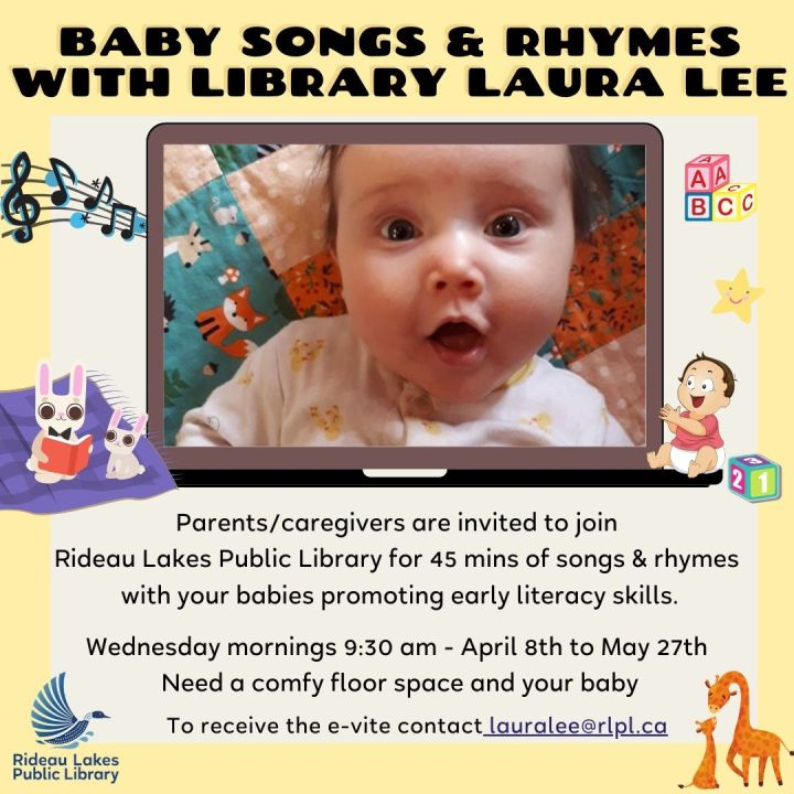 Baby Song and Rhyme time with Laura Lee