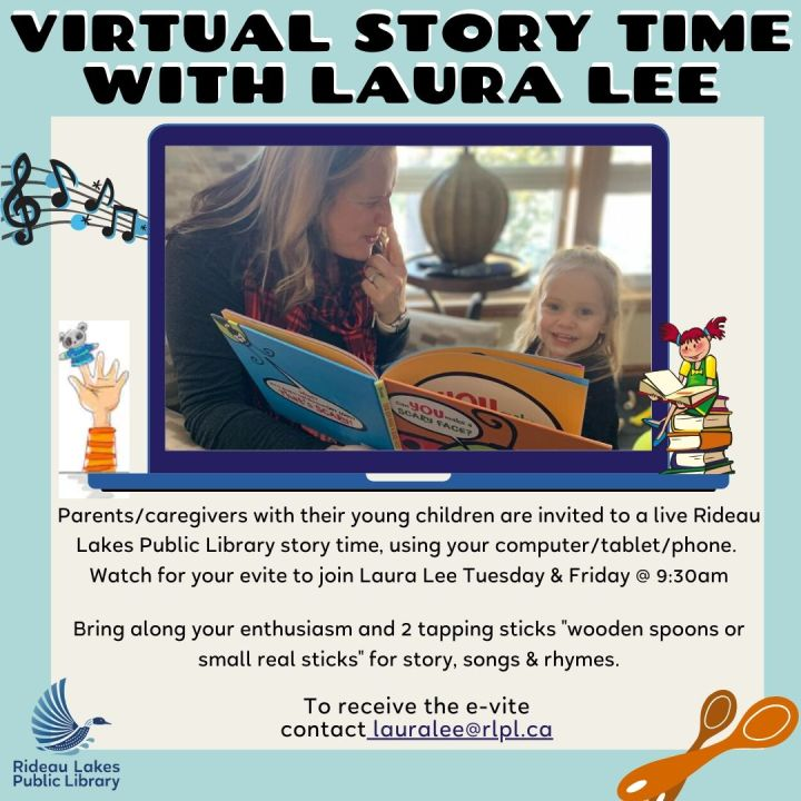 Live Story, Song & Rhyme time with Laura Lee