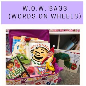 WOW Bags (Words on Wheels)