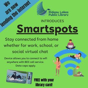 The library is now lending the internet. Contact your local branch for more details