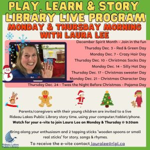 Storytime with Laura Lee.