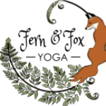 Fern and fox yoga logo