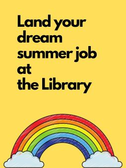 Land your dream summer job at the library