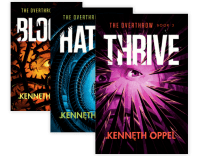 The Overthrow trilogy by Kenneth Oppel.