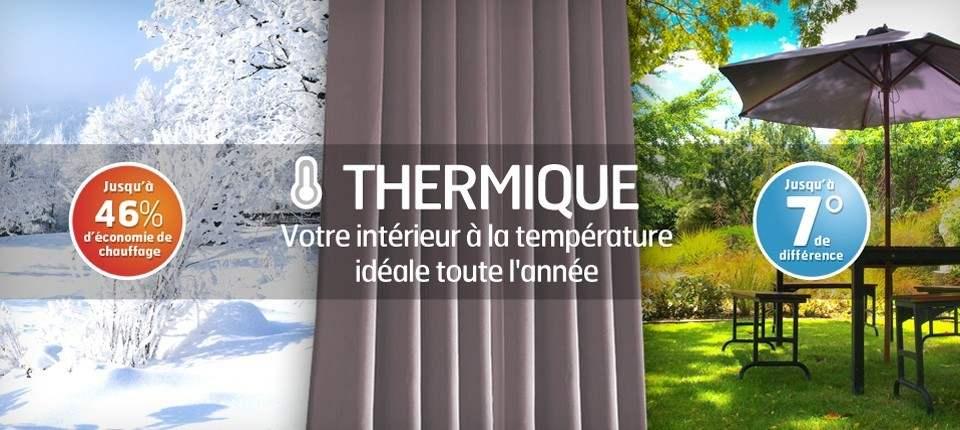 le choix d 39 un rideau thermique rideaux pas cher. Black Bedroom Furniture Sets. Home Design Ideas