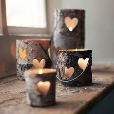 Les bougies et les photophores