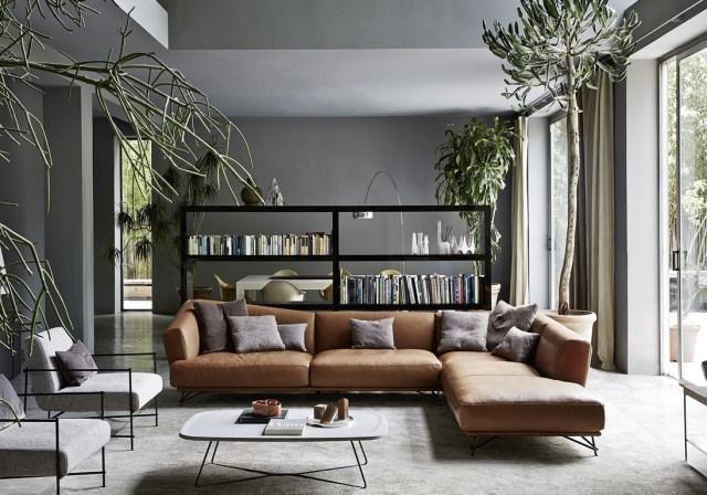 Des rideaux naturels qui dépaysent la décoration du salon