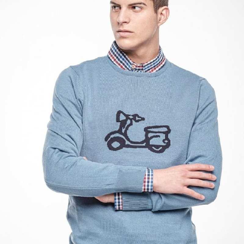 Jersey Azul Moto Ridebike