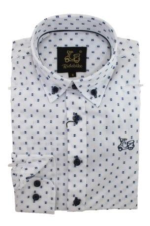 Camisa niño algodón con estampados