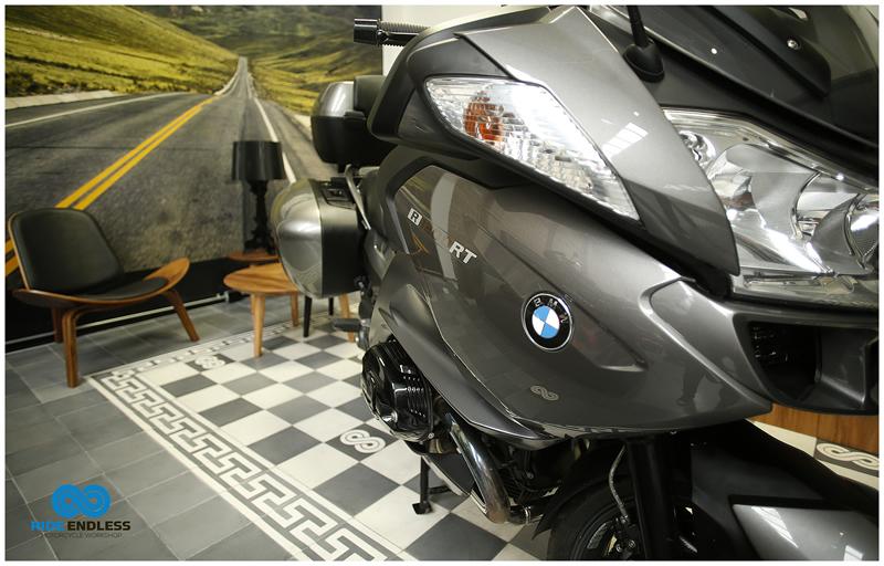 BMW R 1200 RT GRIS