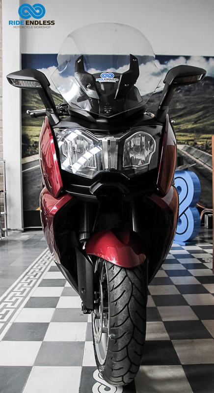 BMW TIPO C 650 GT MODELO 2013