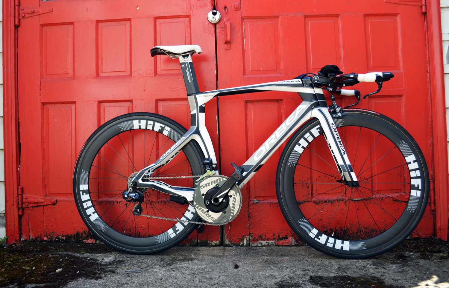 HiFi LP 60mm carbon tubulars on Orbea Ordu TT