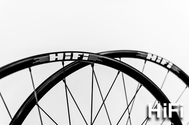 Hootenany 22mm width, 23mm depth aluminum MTB wheels