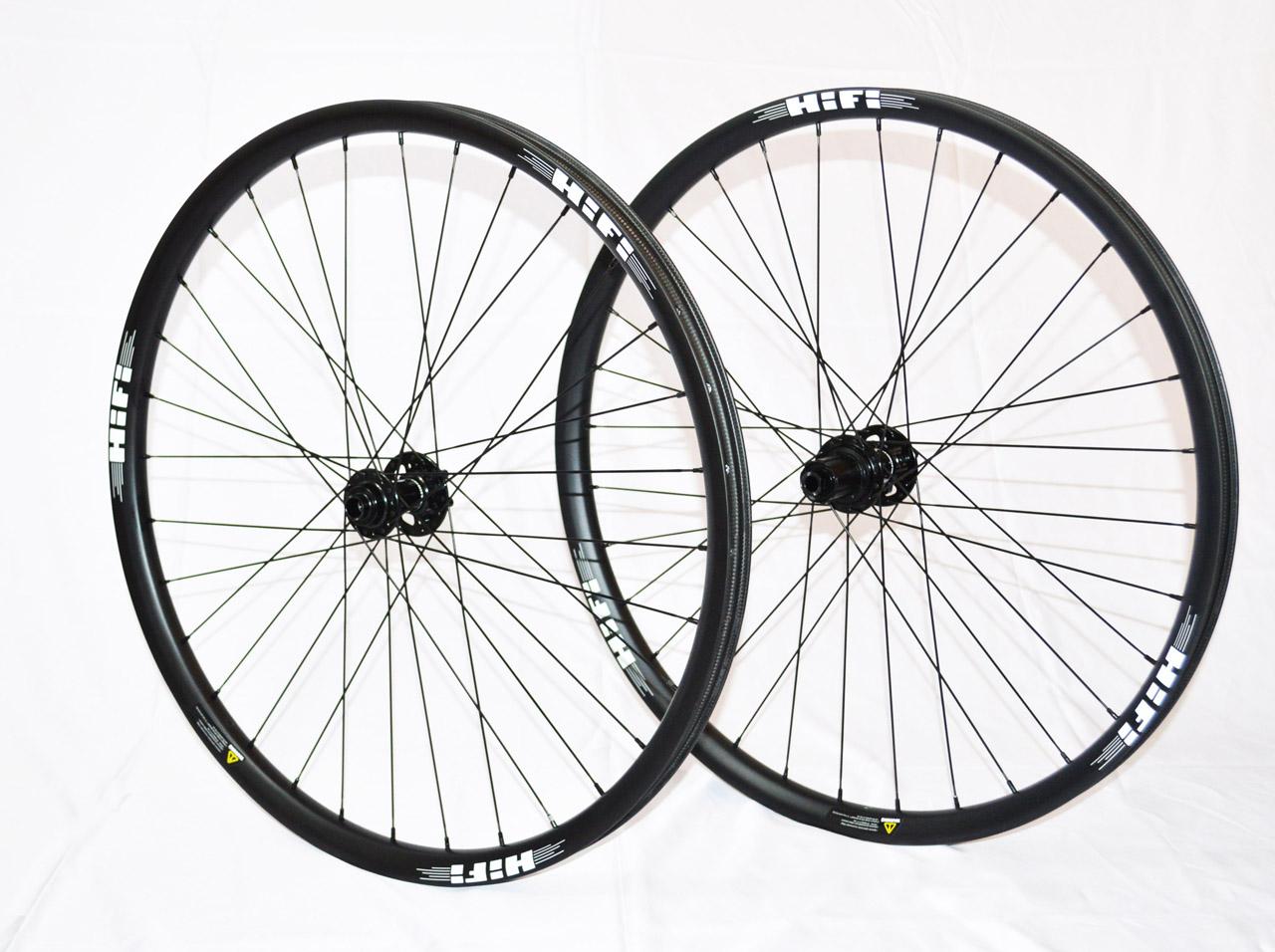 HiFi Session Wide 27.5 carbon MTB wheels