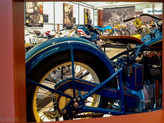 A view of the AMA Motorcycle Hall of Fame Gallery