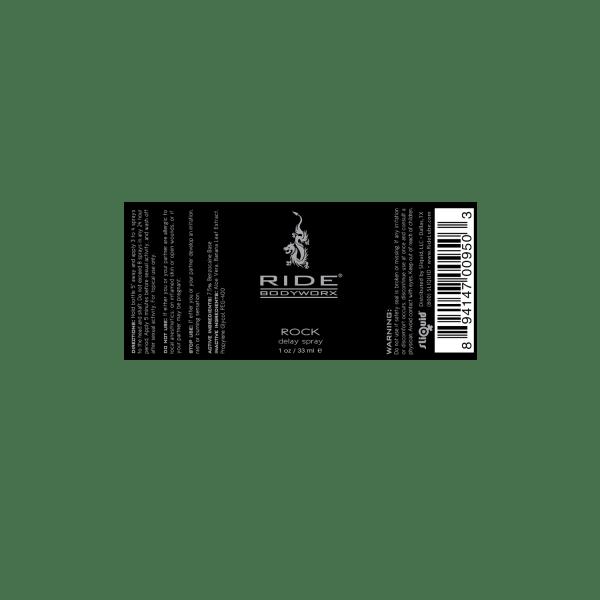 Ride BodyWorx Rock - Label Graphic