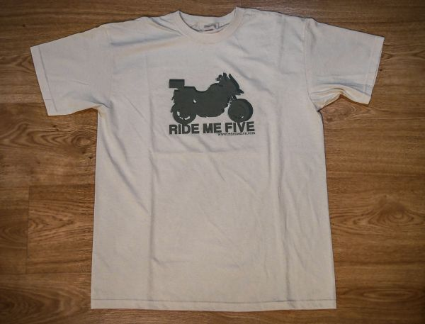 camisetas ride me five
