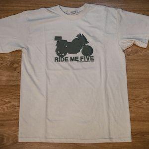 camisetas ride me five