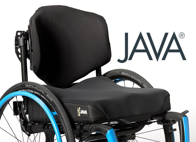 Ride Java Back and Java Cushion for wheelchairs