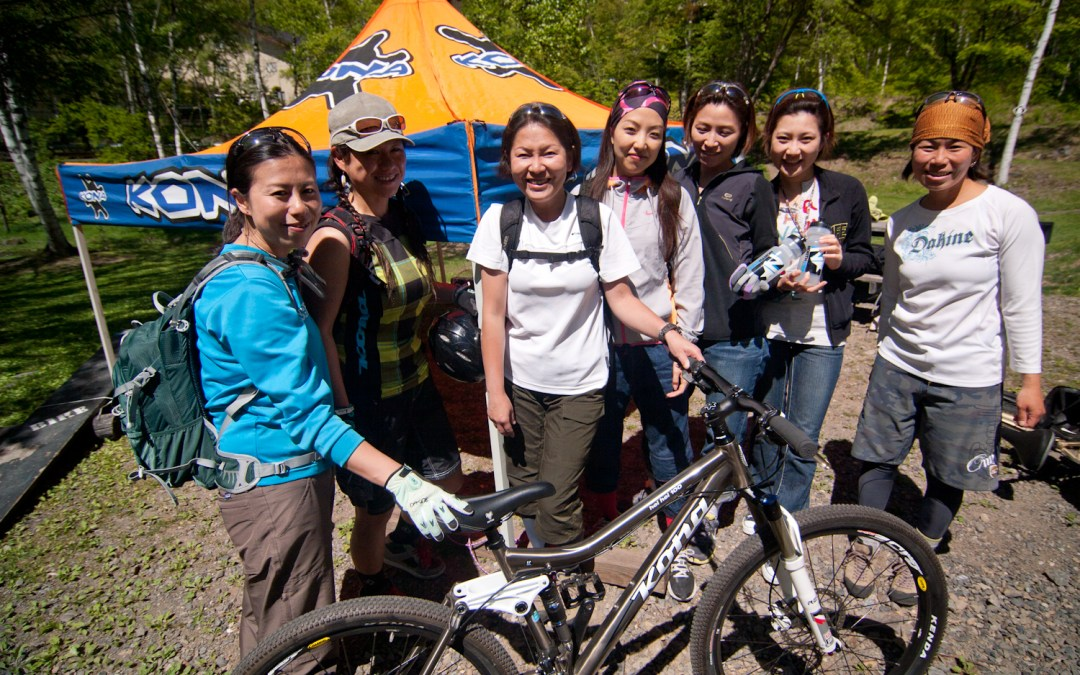 KONA Girls MTB Camp 2012