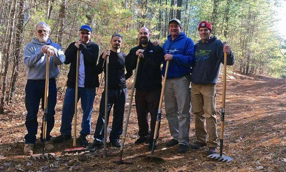 March 7 Trail Work at Lake James State Park