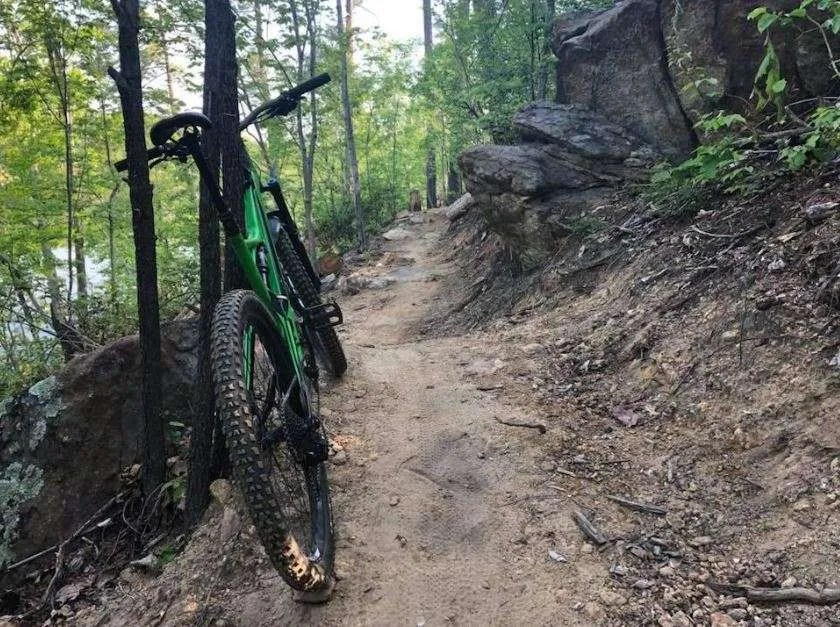 Ribbon cutting ceremony planned for Hickory mountain biking trails