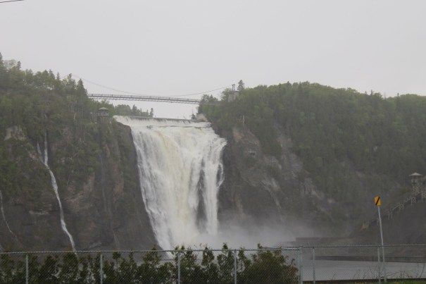 Chute Montmorency or Montmorency Falls Quebec
