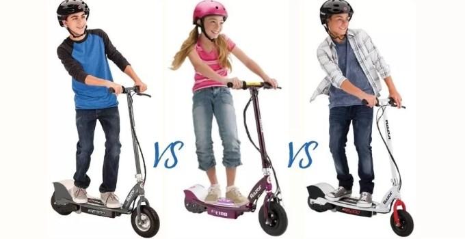 Razor E100 vs. E200 vs. E300 Electric Scooters: Which Is the Best?
