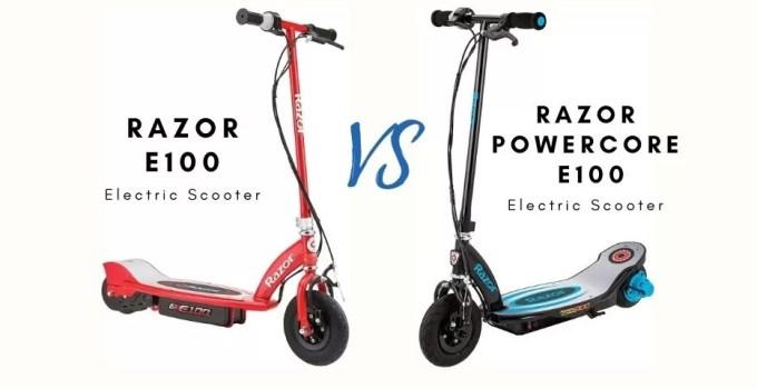 Razor E100 vs. Power Core E100 Electric Scooter: Which One Is Better?