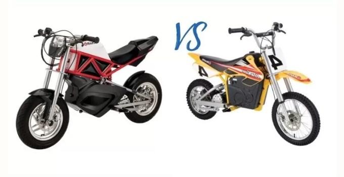 Razor RSF650 vs. MX650 Mini Electric Bike Comparison Review