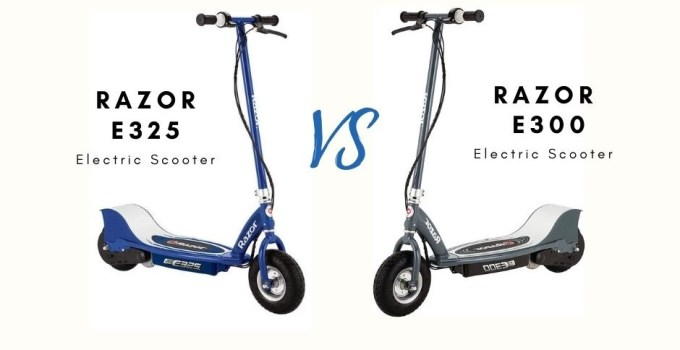 Razor E325 vs. E300 Electric Scooter: Which One Is The Best?