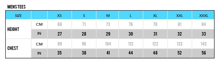 Mens Tees size chart-02