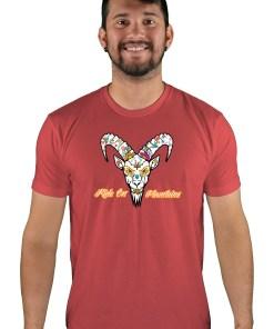 mens mtb el muerto cardinal t-shirt
