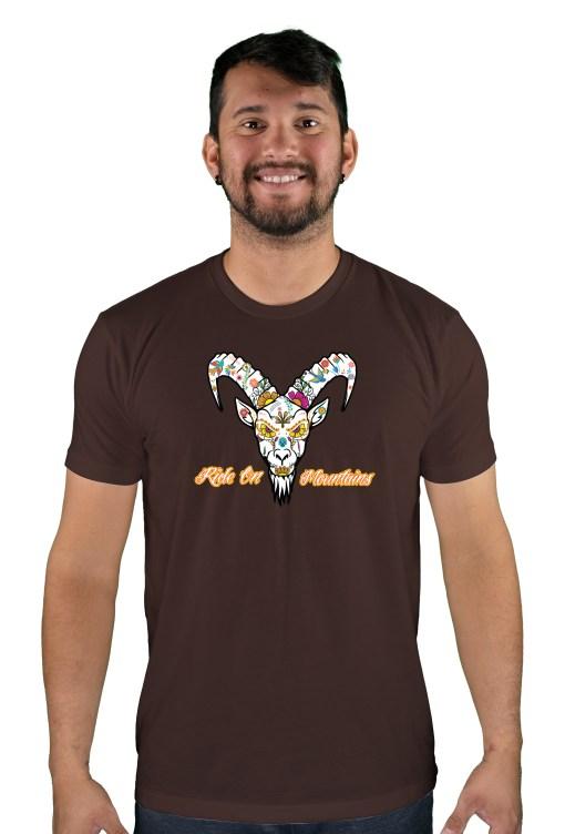 mens mtb el muerto espresso t-shirt