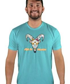 mens mtb el muerto tahiti blue t-shirt