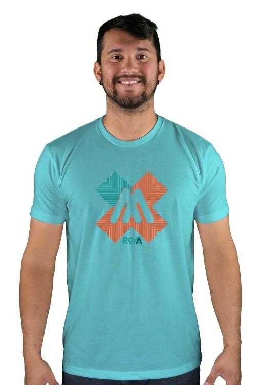 mens mtb rom-x tahiti t-shirt