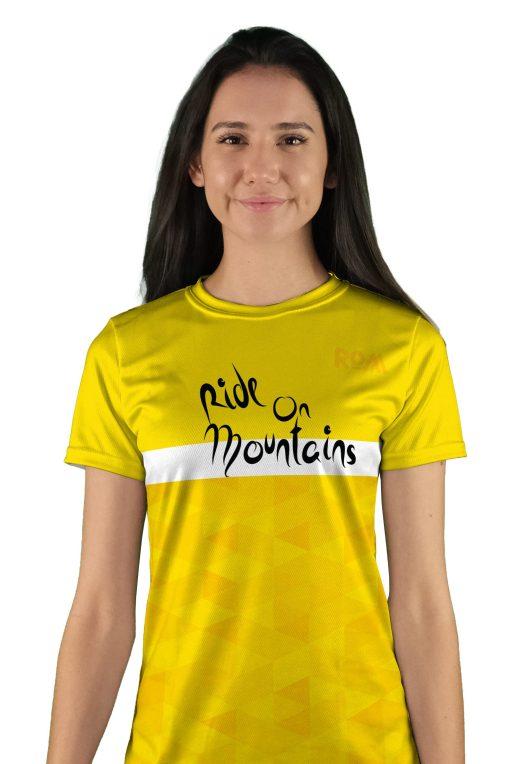 womens short sleeve col d aspin mtb jersey