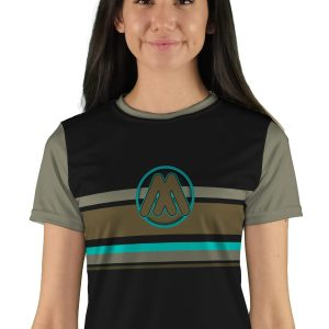 Womens Short Sleeve Speedway Mountain Bike Jersey