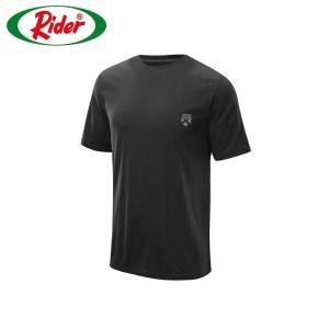 Rider Xtracool Tshirt Man R258BWH Black Pcs 1 in 1 Round Neck