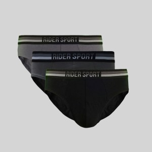 Rider Sport Brief Pria R785B Multiwarna Box 3 in 1