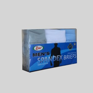 Rider Lifestyle Brief Pria R310BWBR Multiwarna Box 3 in 1