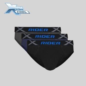 Rider Xtracool R882B Man Mini Brief Box 3 in 1
